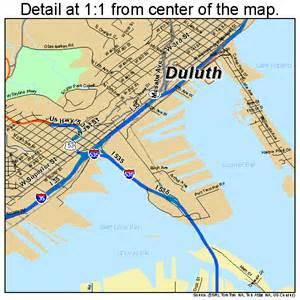 map of duluth duluth minnesota map 2717000