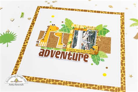 zoo layout design neat and crafty zoo layouts doodlebug design dt