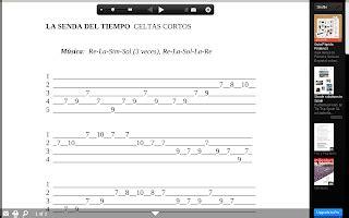 acordes celtas cortos m 250 sica y secundaria guitarra