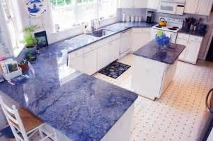 blue countertop kitchen ideas fascinating blue granite countertops in modern and