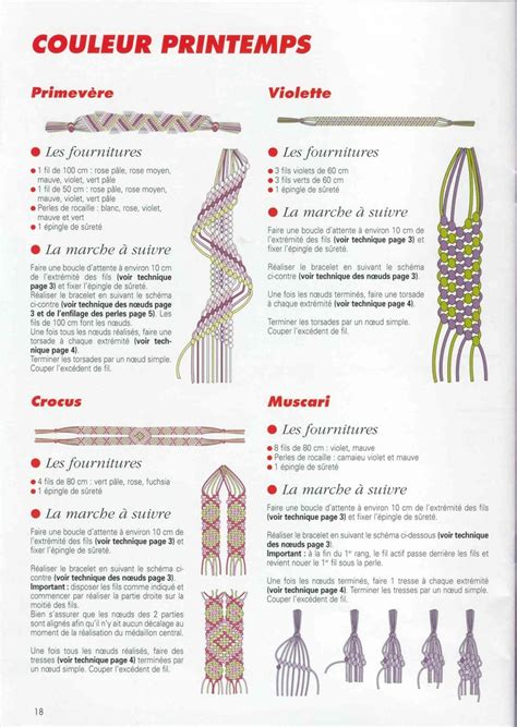 How To Make Macrame Knots - 171 best images about macrame how to make it on