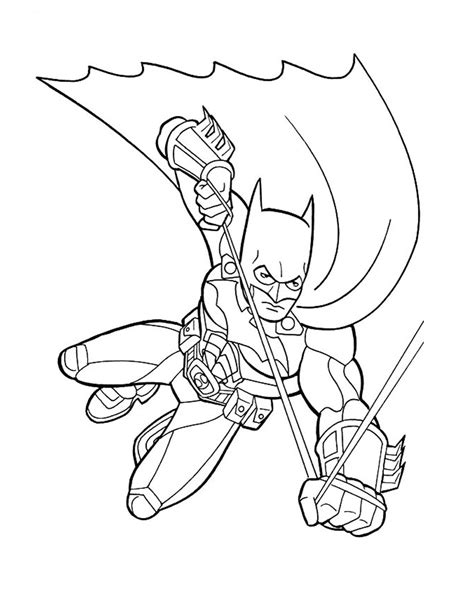Coloring Page Printable by Free Printable Batman Coloring Pages For