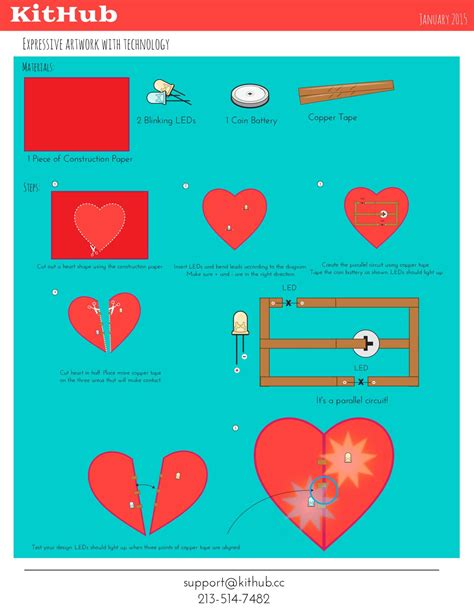 Paper Circuit Card Templates by How To Make Electronic Circuits On Paper And Craft