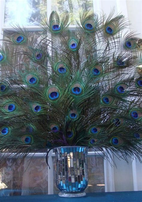 Best 20  Peacock centerpieces ideas on Pinterest   Peacock
