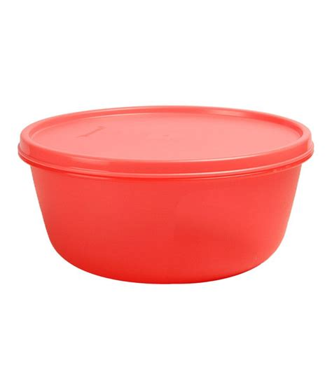 Tupperware Bowl 1 Liter Berkualitas tupperware ss bowl 1 5ltr buy at best price in india snapdeal
