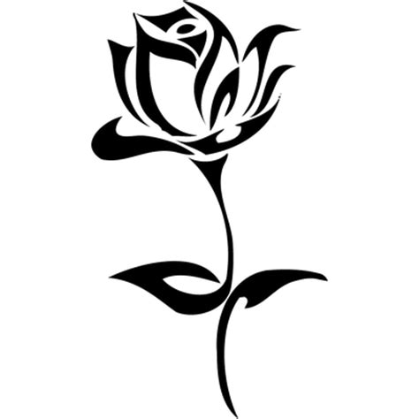 rose tattoo transparent png stickpng