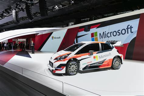 Toyota Rally Car Toyota And Microsoft Team Up With Rally Legend Tommi