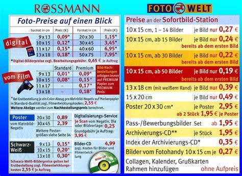Online Drucken Kosten by G 252 Nstig Fotos Ausdrucken Lassen Bei Dm Oder Rossmann