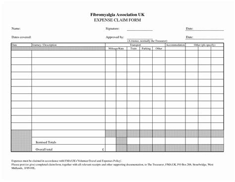 Business Travel Expense Report Template With Expenses Claim Form Template Free Fieldstation Travel Expense Reimbursement Form Template