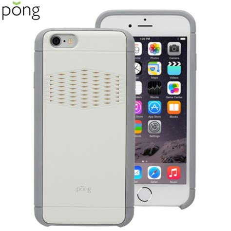 pong rugged pong rugged apple iphone 6s 6 signal boosting white