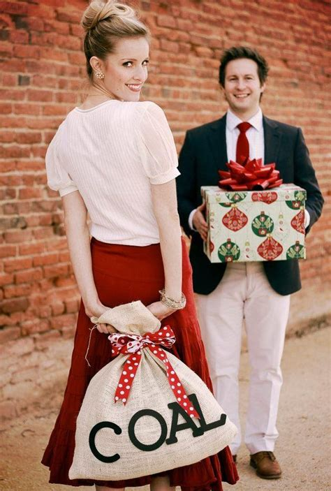 naughty  nice     cute brother sister shoot christmas card pictures funny