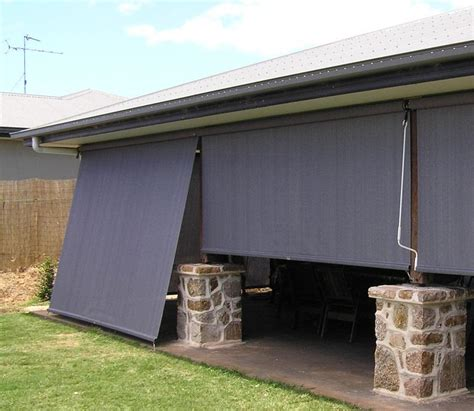www awnings com straight drop verandah blinds southside security doors
