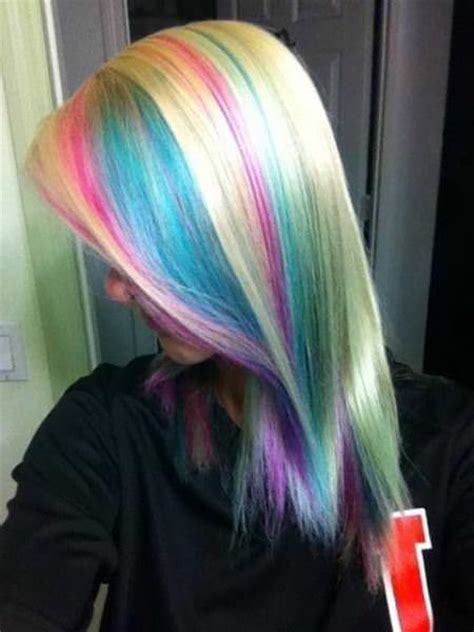 hairstyles multi colored highlights 15 best hair color ideas for chunky highlights