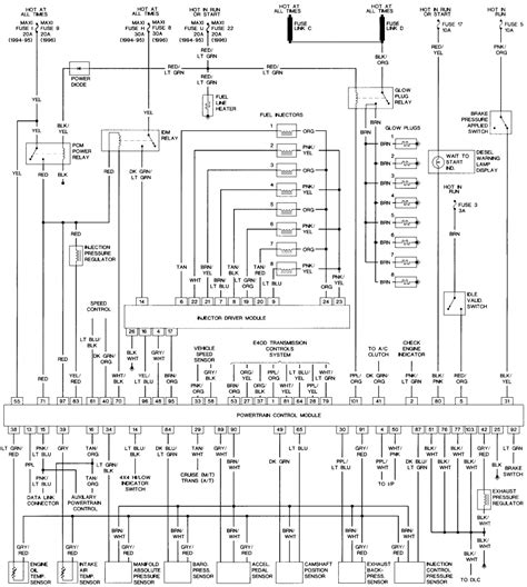 land rover discovery glow wiring diagram