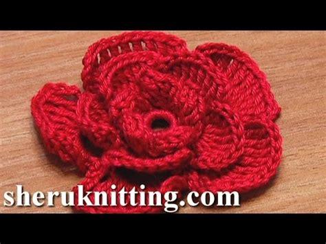 youtube a pattern of roses crochet rose flower tutorial 20 かぎ針編みローズフラワー youtube