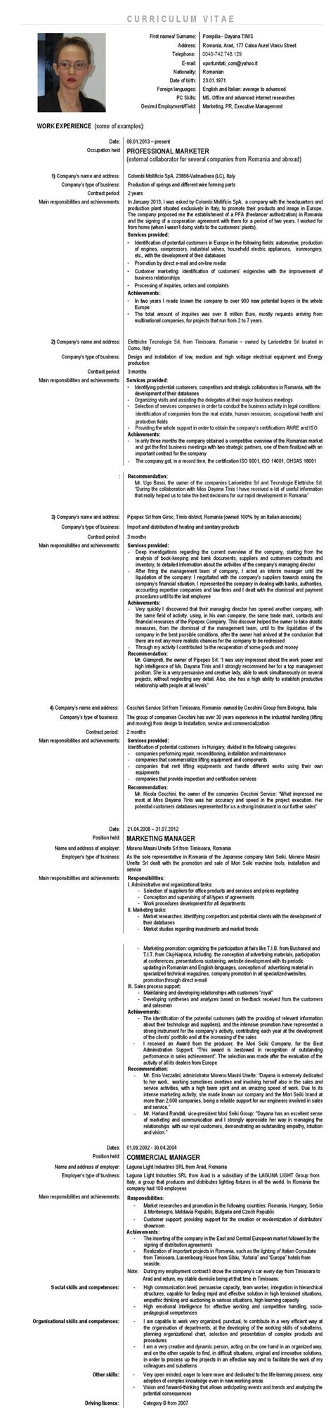 Resume C Language by 17 Best Ideas About Cv In On Cover