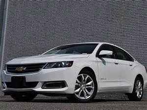 changes in the chevrolet impala for 2016 | 2017 2018