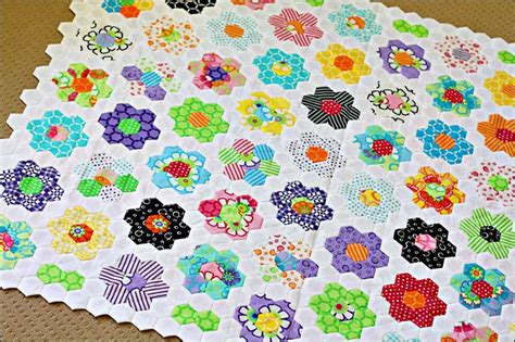 Hexagon Quilt Tutorial by Best Hexagon Quilt Tutorial Keeping U N Stitches Quilting