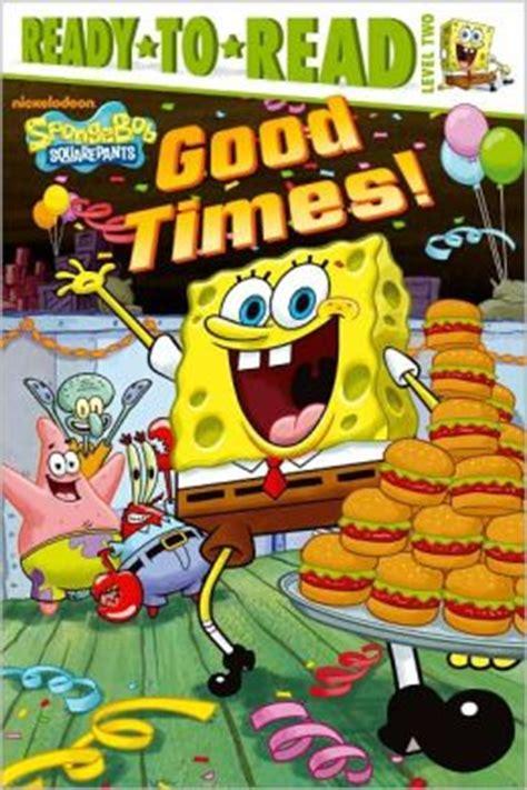 times spongebob squarepants ready to read series
