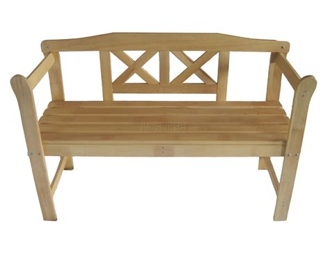wooden garden bench ebay new outdoor home 2 seat seater wooden garden bench wood