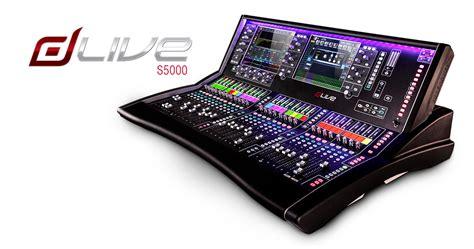 allen and heath console allen heath dlive s5000 digital mixing console soundtown