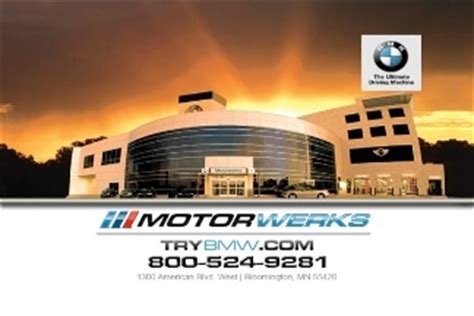 bmw motorwerks bloomington motorwerks bmw in minneapolis mn 55420 citysearch