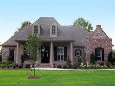 1 Story Homes by French Country House Exteriors French Country House Plans