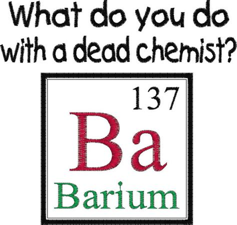 Periodic Table Of Elements Puns by Items Similar To Periodic Table Element Joke Design Dead