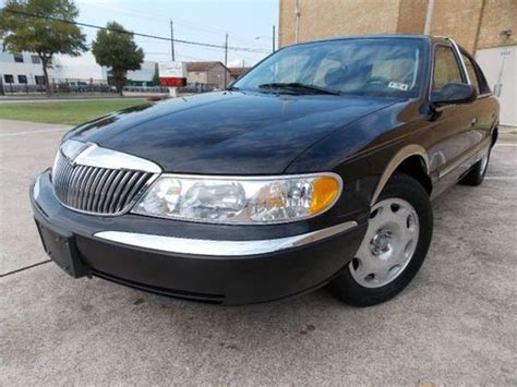 how to work on cars 1999 lincoln continental navigation system purchase used 1999 lincoln continental presidential edition loaded low miles free shipping in
