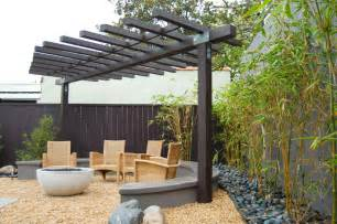 Pergola Fire Pit by Modern Pergola Patio Asian With Outdoor Fire Pit Firepit