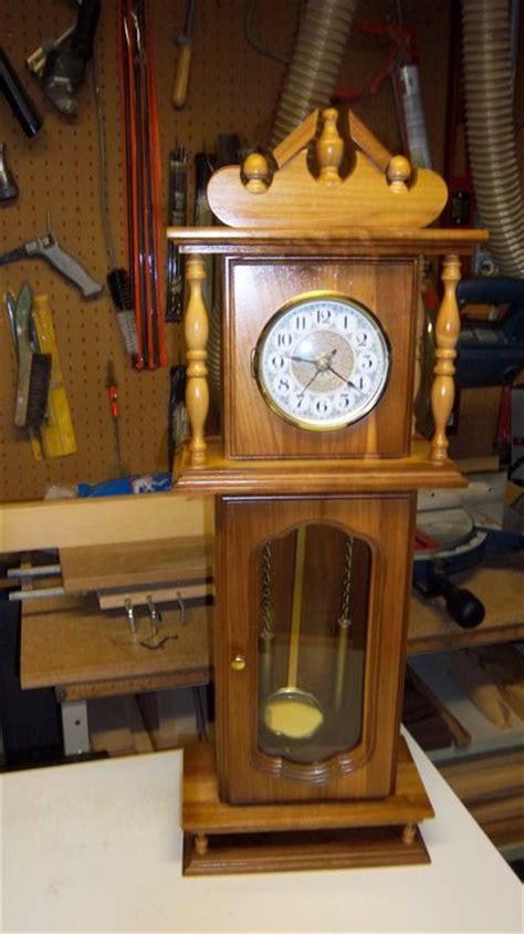 grandfather clock woodworking plans mini grandfather clock by doubledd lumberjocks