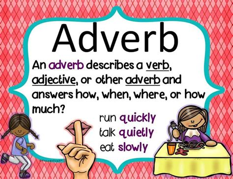 printable adverb poster 9 best the first tortilla images on pinterest adverbs