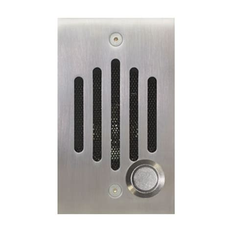 iu series front door intercom channel vision technology