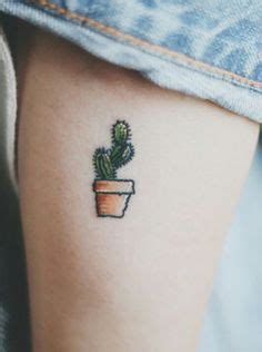 cactus tattoo on