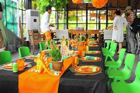 Pudding Hello Orange And Blue Theme kara s ideas green orange dino planning ideas supplies idea supplies idea