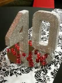 bling centerpiece ideas 40th bling centerpiece birthday bling