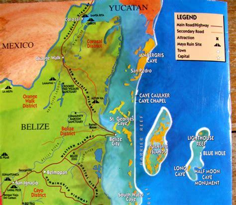 mayan ruins map belize report mayan ruins