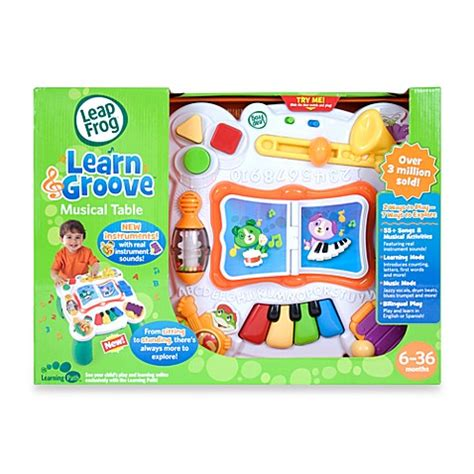 leapfrog 174 learn groove 174 musical table buybuy baby