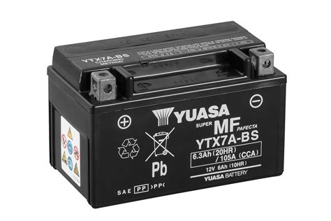 Motorrad Batterie Ladegerät Test by Ytx7a Bs Wartungsfrei Motorrad Powersport Batterien
