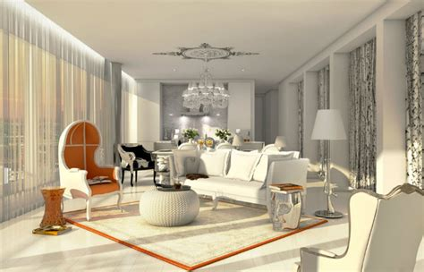 Extravagant Living Room Ideas inspired by Philippe Starck