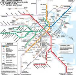 Mbta Boston Map by Mbta Boston Subway Map Vacation Pinterest