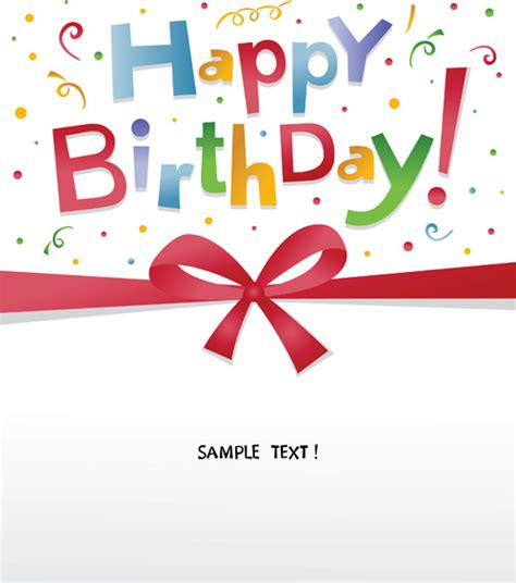 happy birthday message with design happy birthday vector free vector download 4 954 free