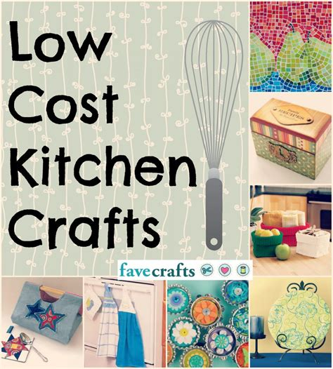 craft ideas for kitchen 53 low cost kitchen crafts favecrafts com