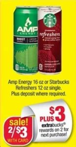 tosh 0 energy drink free starbucks refreshers or energy drinks at cvs