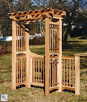 Trellis Structures Malibu Arbor By Trellis Structures