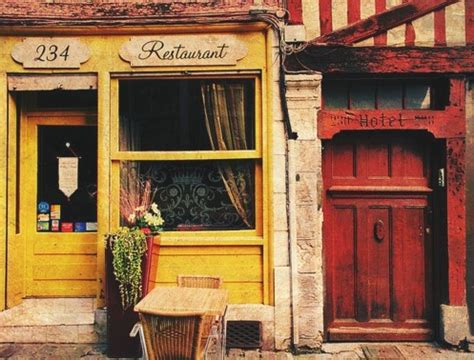 cafe de paris rustic french cottage style old wood wall paris unpretentious honest food gems