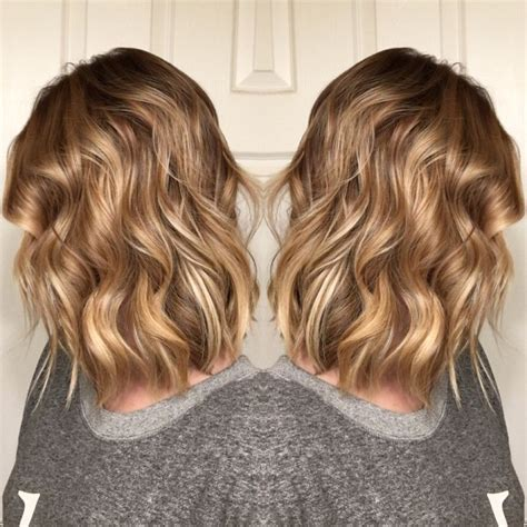 honey blonde hairstyles color honey blonde balayage short hair