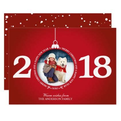 christmas cards red white holiday photo card zazzlecom holiday photo cards christmas