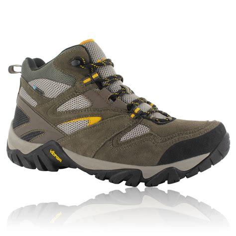 mens hi tec walking boots hi tec mens coyote brown mid waterproof outdoor trail
