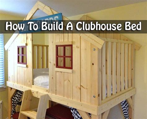 clubhouse bed how to build a clubhouse bed